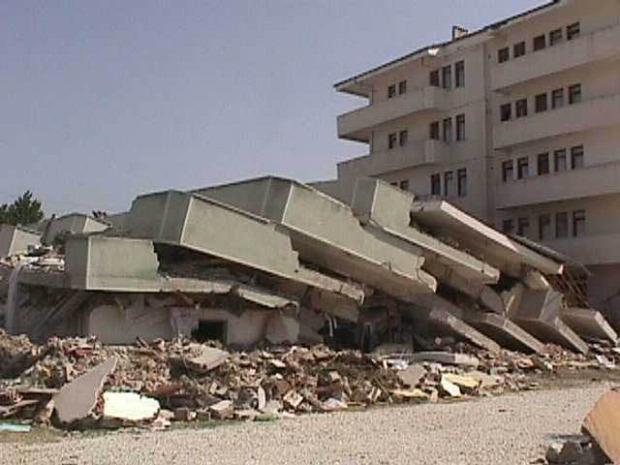 földrengés fantomrezgés Törökország