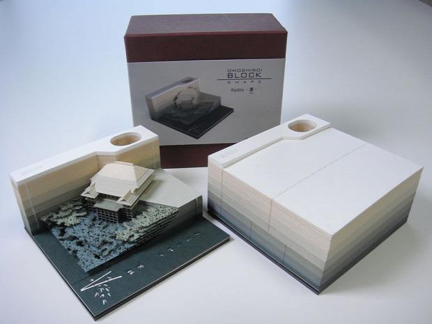 A világ érdekes jegyzettömb kivágás papír