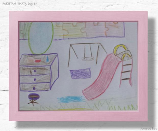 A világ érdekes gyerek gyerekszoba terv animáció