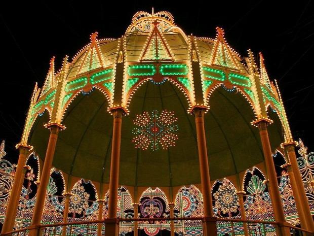 A világ érdekes Kobe Japán földrengés fény fesztivál Luminarie