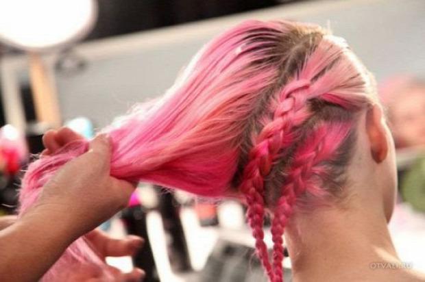 A világ érdekes haj frizura fonat fonás