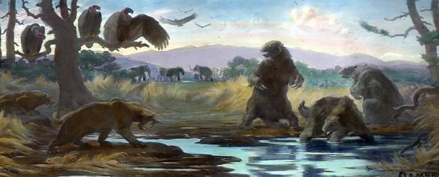 kihalás pleisztocén ember mamut kardfogú tigris