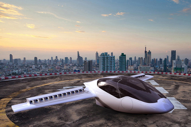 A világ érdekes elektromos repülő első