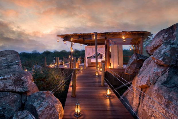 A világ érdekes Dél-Afrika Krüger Nemzeti Park Lion Sands Game Reserve szállás  luxus