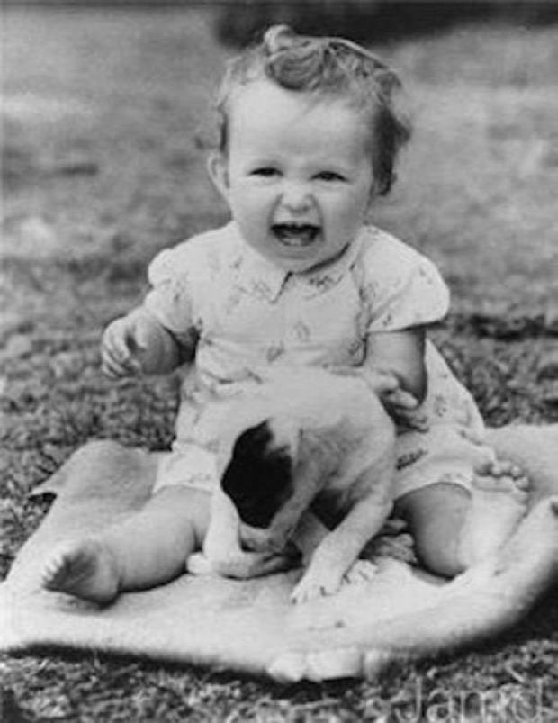 A világ érdekes sztár gyerek fotó