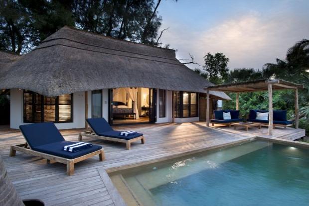 A világ érdekes Afrika Mozambik Banguerra sziget paradicsom