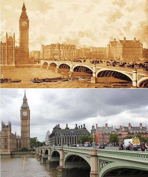 A világ érdekes London fotó 150 év