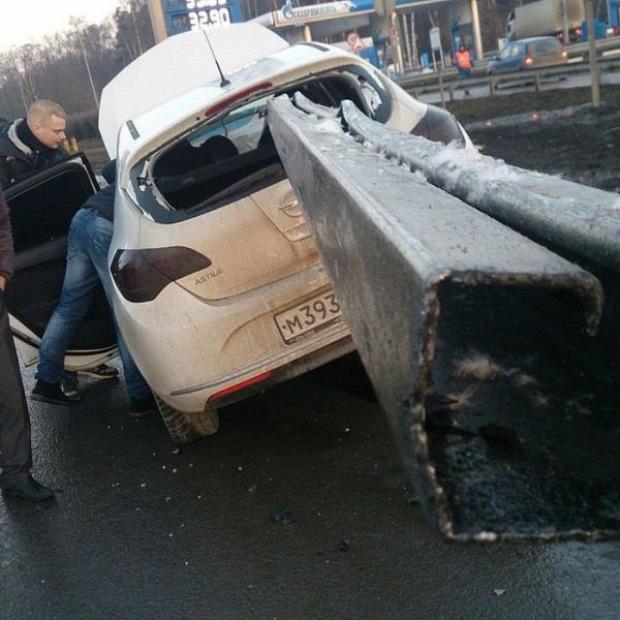 A világ érdekes baleset szerencse túlélés