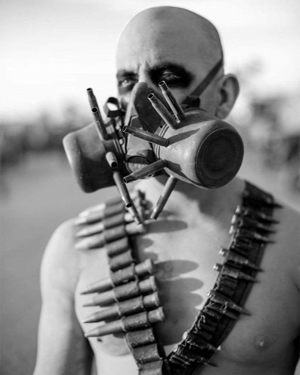 A világ érdekes buli  fesztivál posztapokaliptikus wasteland