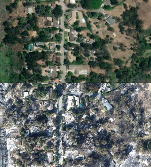 A világ érdekes Kalifornia Malibu tűzvész katasztrófa