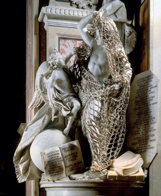 A világ érdekes nápoly szobor megtévesztés háló