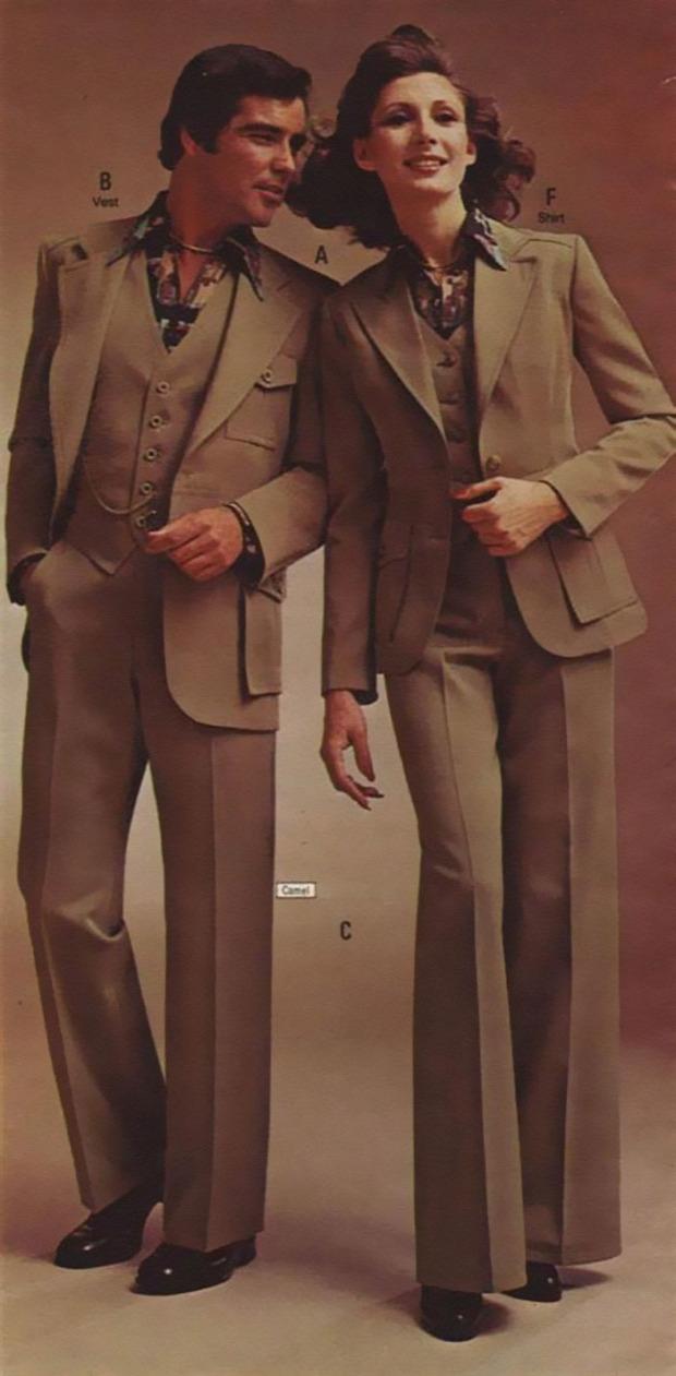 A világ érdekes divat 70-es évek páros