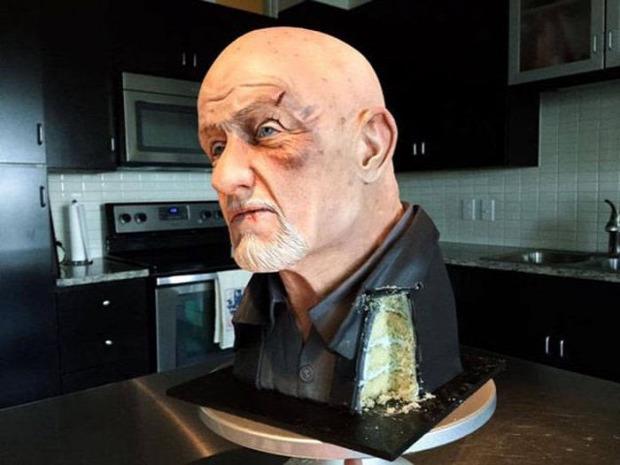 A világ érdekes dizájn torta süti