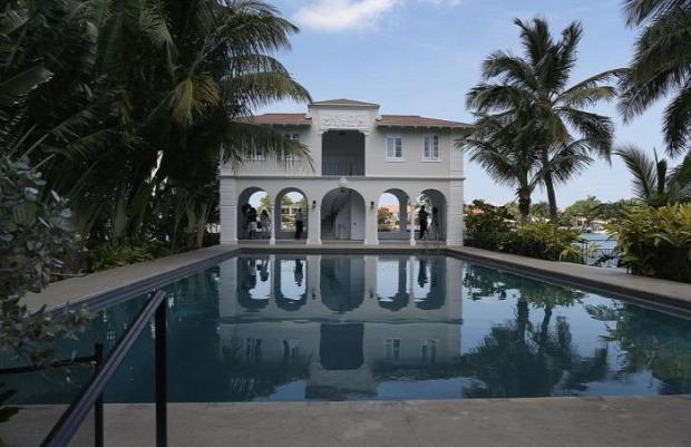 A világ érdekes Florida Miami Al Capone villa