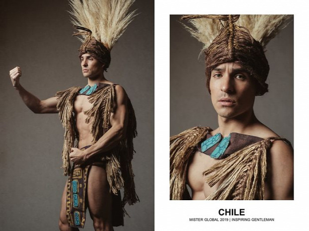 A világ érdekes férfi szépségverseny nemeti viselet