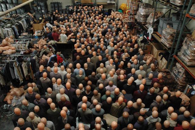 A világ érdekes film tömeg statiszta CGI