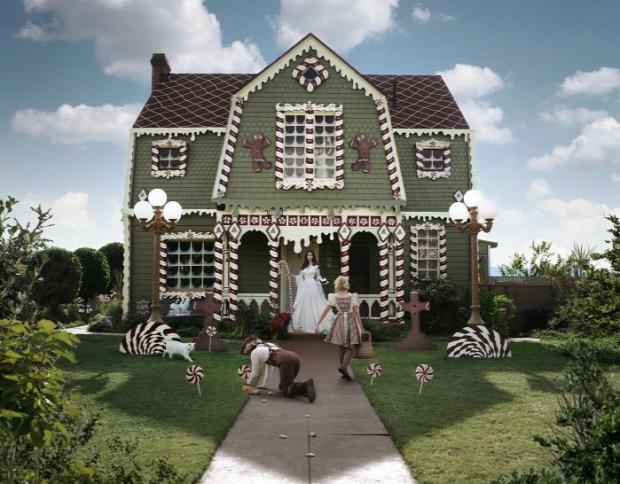 A világ érdekes ünnep dizájn karácsonyi dekoráció mézeskalács