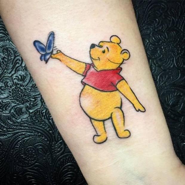 A világ érdekes tetkó tetoválás tatoo retró nosztalgia rajzfilm