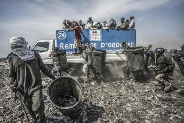 A világ érdekes Haiti élet szemét telep legnagyobb
