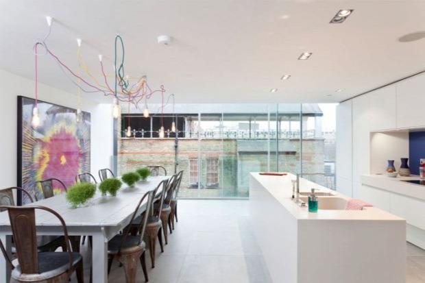 A világ érdekes London víztorony lakás modern