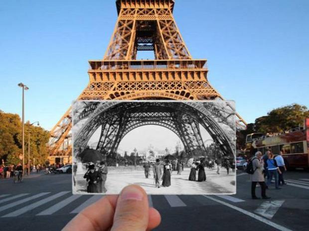 A világ érdekes Párizs régen most