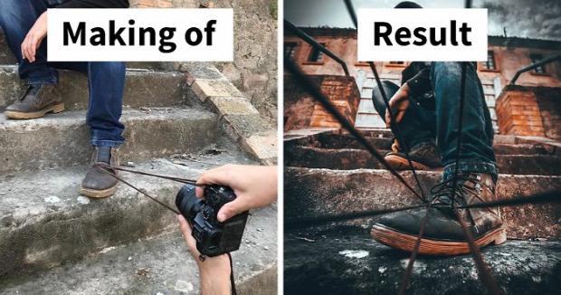 A világ érdekes photoshop trükk manuális fotó