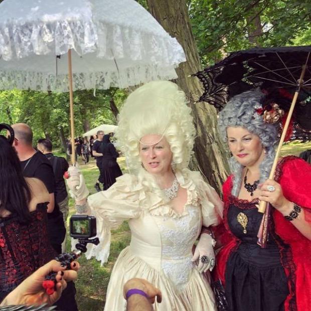 A világ érdekes fesztivál gót goth