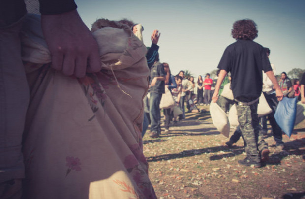 A világ érdekes Buenos Aires Argentína Planetárium tavaszi napforduló párnacsata