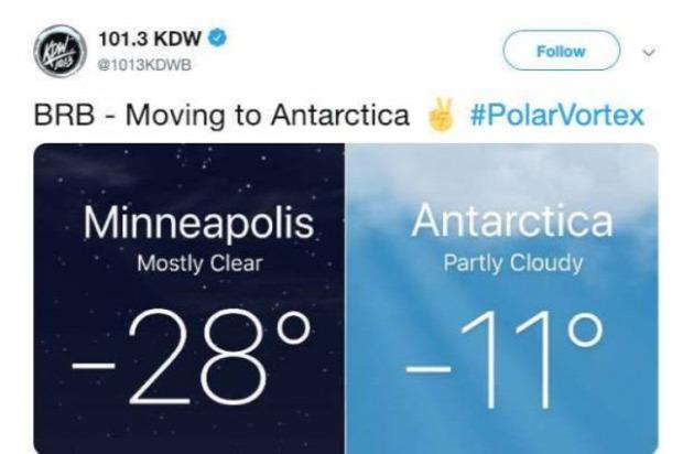 A világ érdekes USA hideg sarki örvény mém