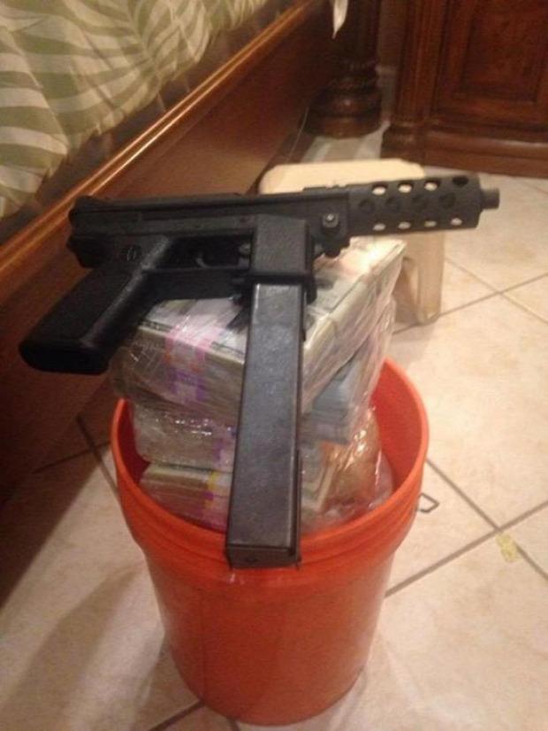 A világ érdekes drog maffia kereskedő kincs rejtett pénz