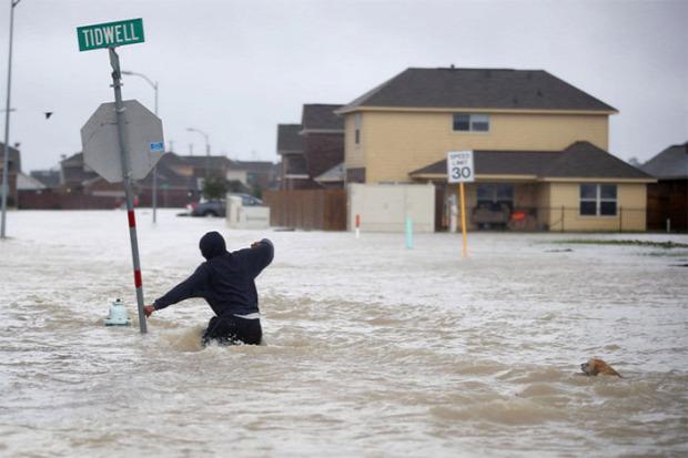 Texas hurrikán áradás