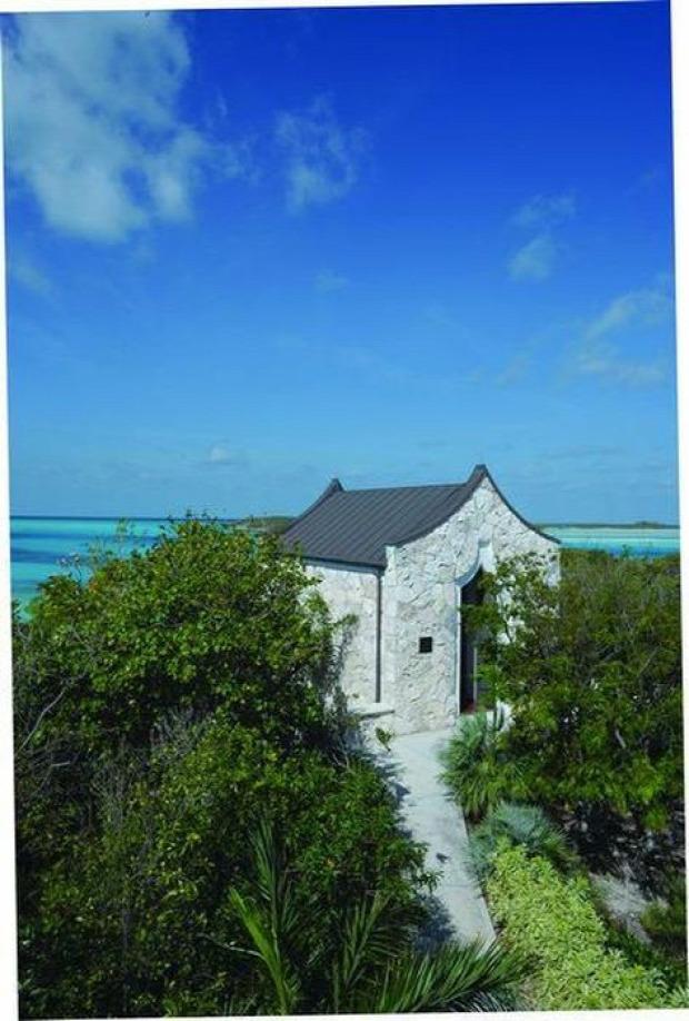 A világ érdekes sziget privát magán Bahamák Karib-tenger Exumas