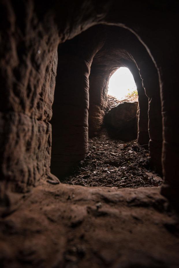A világ érdekes Anglia Shropsire föld alatti templomos templom rejtekhely