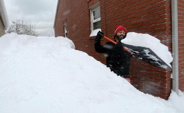 A világ érdekes USA Kanada Amerika hideg rekord hó