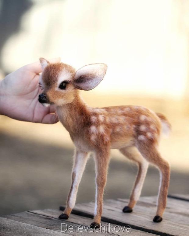 állat figura nemezelés gyapjú