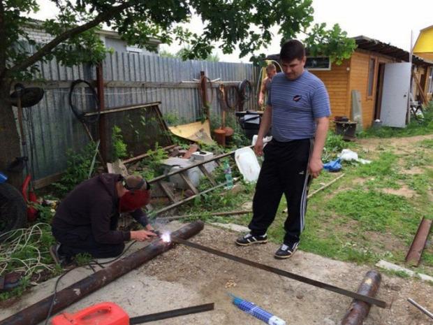 A világ érdekes konditerem kültéri orosz