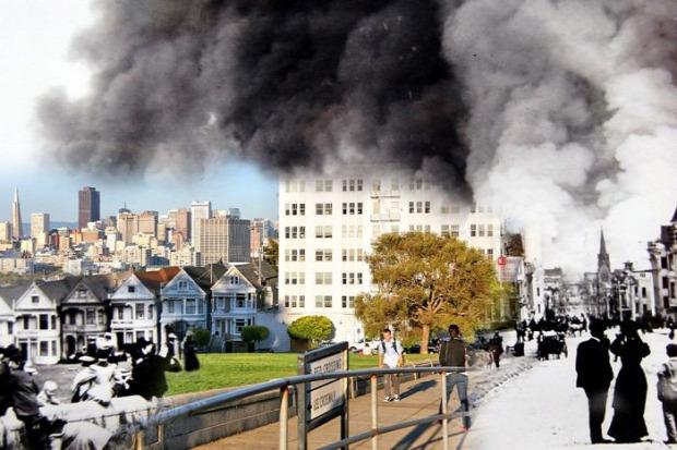 A világ érdekes San Francisco 1906 földrengés ma