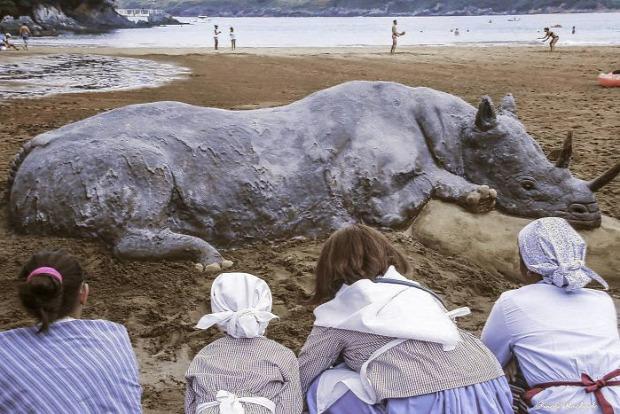 homok szobor