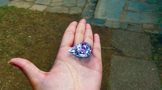 A világ érdekes 3D festmény kéz tenyér