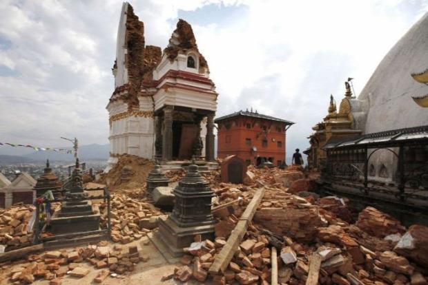 A világ érdekes Nepál földrengés után