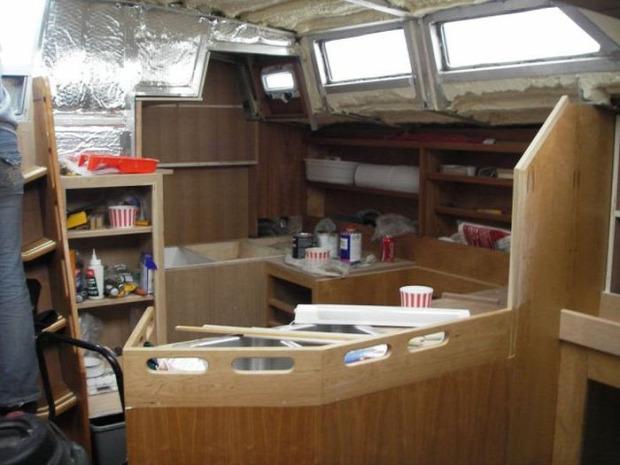 A világ érdekes hajó jacht vitorlás építés