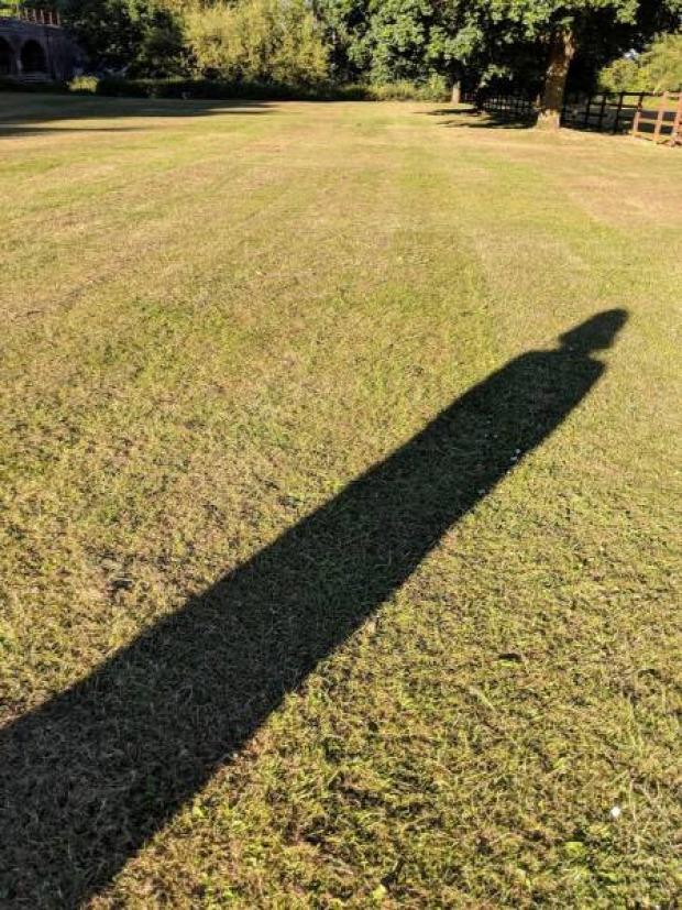 A világ érdekes fény árnyék kép