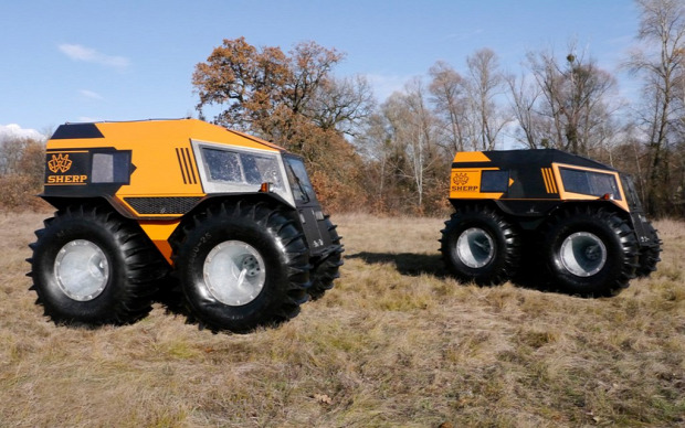 Kütyülógia Sherp Serpa ATV terepjáró orosz tajga