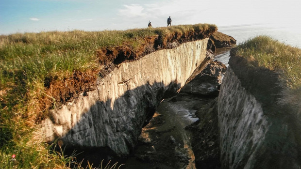 Északi-sark felmelegedés klmaváltozás permafrost Szibéria futótűz