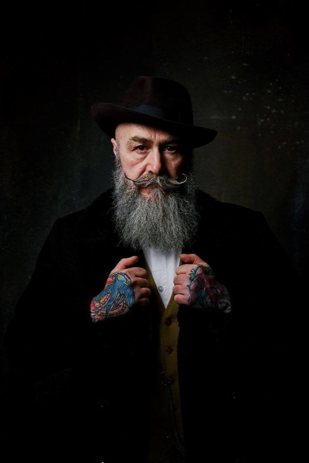 A világ érdekes középkorú modell Pip gentleman