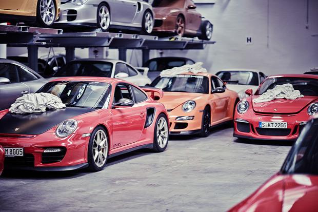 A világ érdekes Stuttgart Porsche múzeum titkos raktár