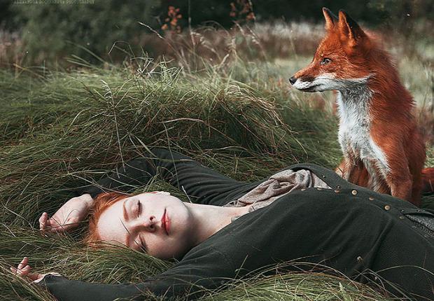 A világ érdekes tündérmese piroska vörös hajú róka