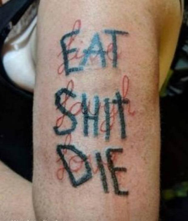 tetoválás tetkó tatoo rossz ostoba elrontott