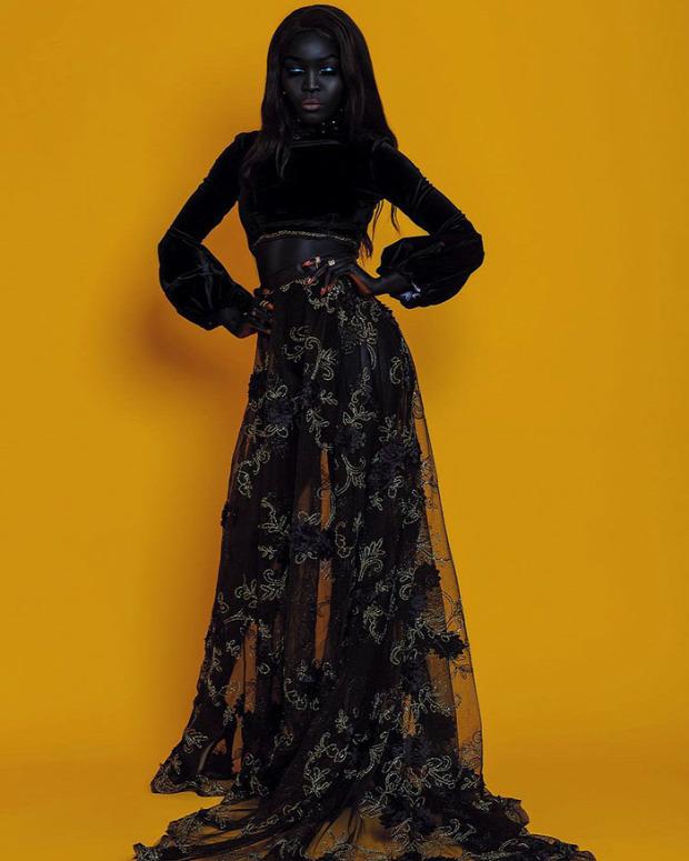 A világ érdekes modell Szudán Fekete