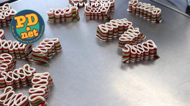 Dizájn cukorka szalag kézműves